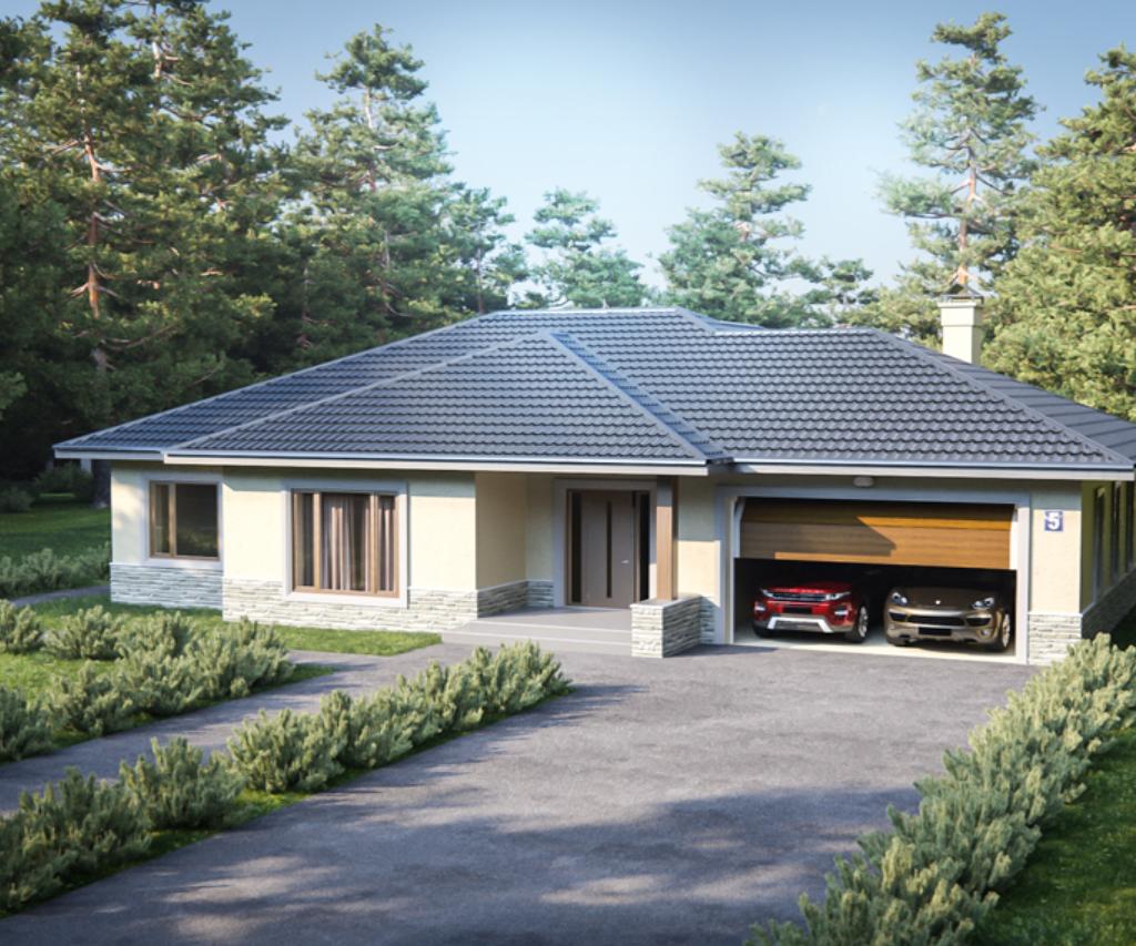 projekty rodinnych domov RENOVA - stavba murovane domy na kluc topolcany