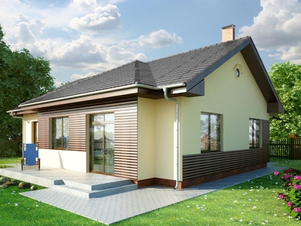 RENOVA stavby domov na kluc - Rodinný dom ADARA - zadný pohľad