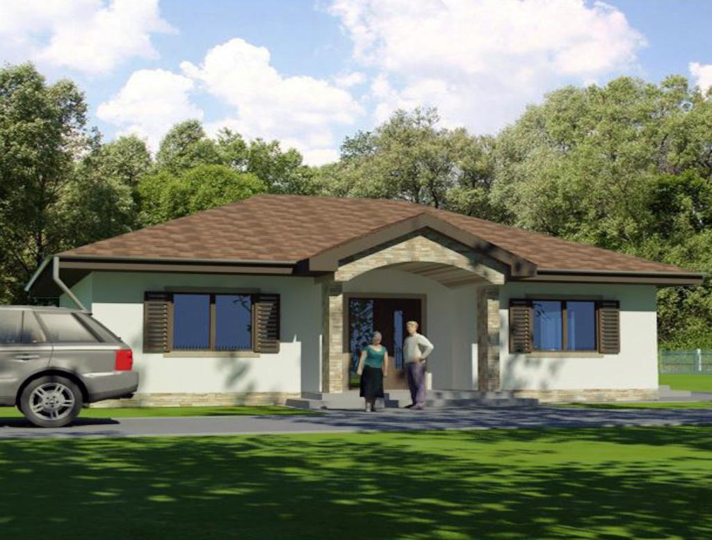 projekty rodinnych domov na kluc Rodinný dom MIA